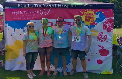 Phyllis Tuckwell Colour Run