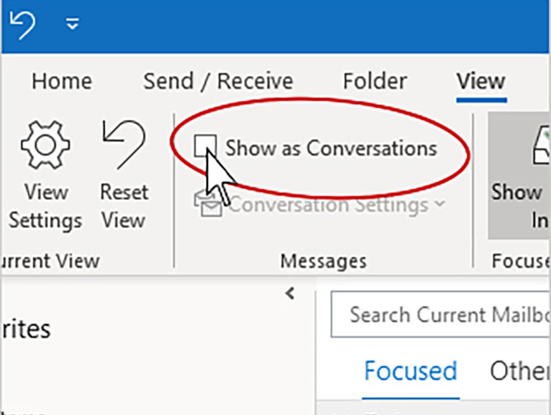 USING CONVERSATION CLEAN UP IN OUTLOOK